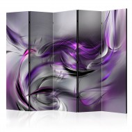 Paravent 5 volets  Purple Swirls II II [Room Dividers]