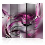 Paravent 5 volets  Pink Swirls II II [Room Dividers]