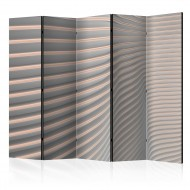 Paravent 5 volets  Cool Stripes II [Room Dividers]