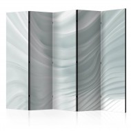 Paravent 5 volets  Waving White II [Room Dividers]