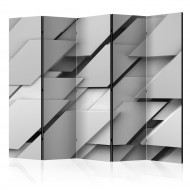 Paravent 5 volets  The Edge of Gray II [Room Dividers]