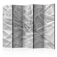 Paravent 5 volets  White Spiders Web II [Room Dividers]