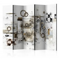 Paravent 5 volets  Artistic Riddle II [Room Dividers]