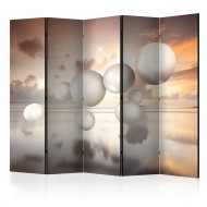 Paravent 5 volets  Morning Jewels II [Room Dividers]