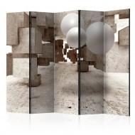 Paravent 5 volets  Concrete Maze II [Room Dividers]