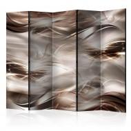 Paravent 5 volets  Umber Waves II [Room Dividers]