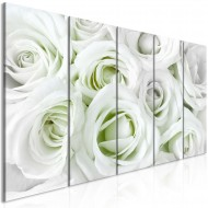 Tableau  Satin Rose (5 Parts) Narrow Green