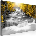 Tableau - Cascade of Thoughts (1 Part) Wide Yellow