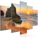 Tableau - Meeting at Sunset (5 Parts) Wide