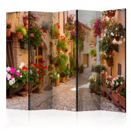Paravent 5 volets  The Alley in Spello (Italy) II [Room Dividers]