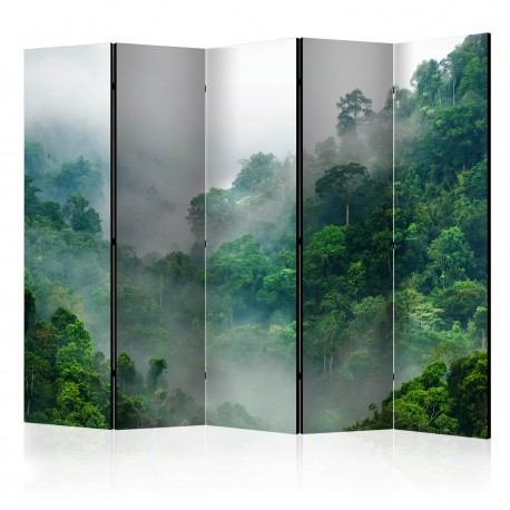 Paravent 5 volets  Morning Fog II [Room Dividers]