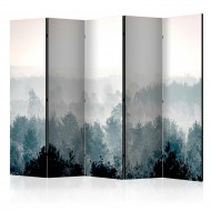 Paravent 5 volets  Winter Forest II [Room Dividers]