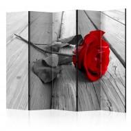 Paravent 5 volets  Abandoned Rose II [Room Dividers]