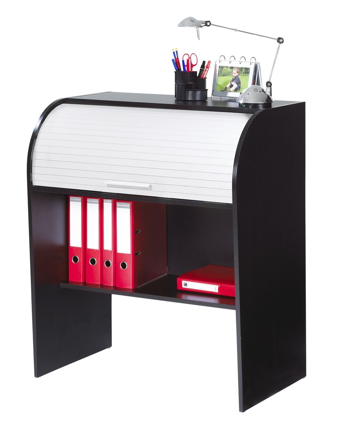 Bureau Noir Et Blanc bureau enfant 85 cm noir et blanc - beaux meubles pas chers
