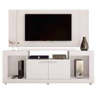 Meuble TV Mural 55 Pouces Maxi Blanc