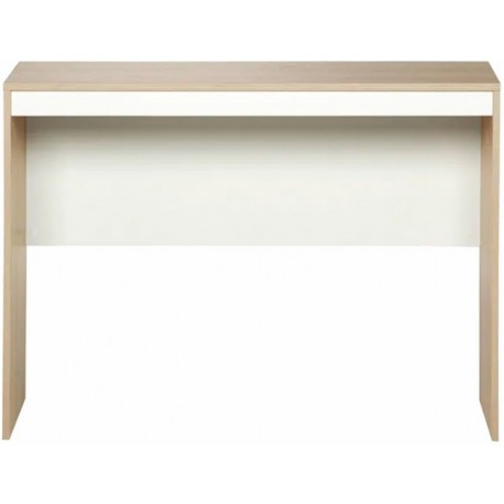 Bureau Chêne et Blanc 106 cm