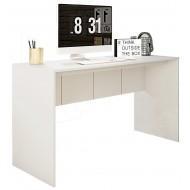 Bureau Blanc Mat 136 cm