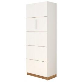 Armoire 2 Portes Blanche Haut. 180 cm