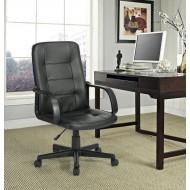 Chaise de Bureau Noire Dos Résille
