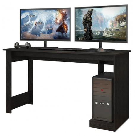 Bureau Gamer Noire Rouge 136 cm