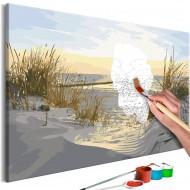 Tableau à peindre par soimême  On Dunes