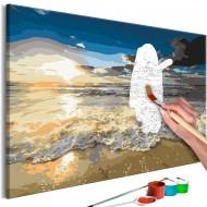 Tableau à peindre par soimême  Blinding Sun