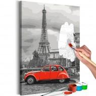 Tableau à peindre par soimême  Car in Paris