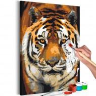 Tableau à peindre par soimême  Asian Tiger