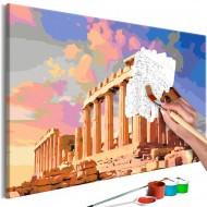 Tableau à peindre par soimême  Acropolis