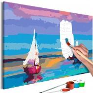 Tableau à peindre par soimême  Sea Landscape