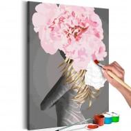 Tableau à peindre par soimême  Delicate Figure