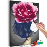 Tableau à peindre par soimême  Flower Girl