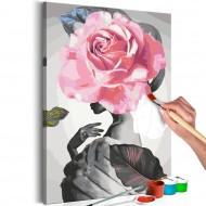 Tableau à peindre par soimême  Rose and Fur