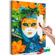 Tableau à peindre par soimême  Venetian Mask