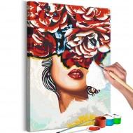 Tableau à peindre par soimême  Sweet Lips
