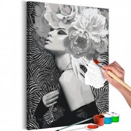 Tableau à peindre par soi-même - Silver Princess