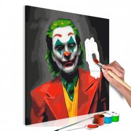 Tableau à peindre par soi-même - Joker