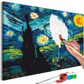 Tableau à peindre par soi-même - Magic City
