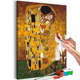 Tableau à peindre par soi-même - Klimt: The Kiss
