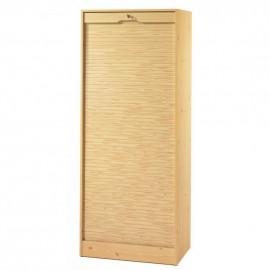 Classeur à Rideau Pin hauteur 108 Largeur 70 cm