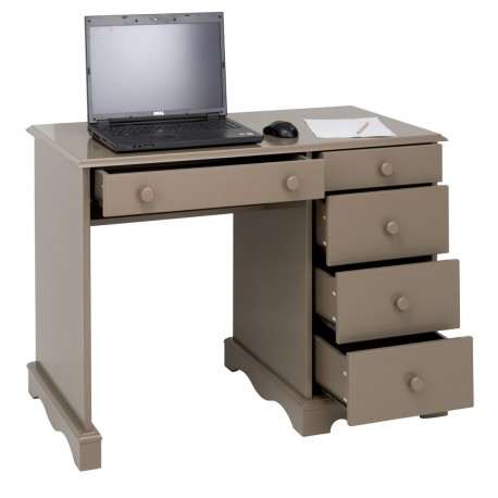 bureau taupe demi ministre de style anglais. Black Bedroom Furniture Sets. Home Design Ideas