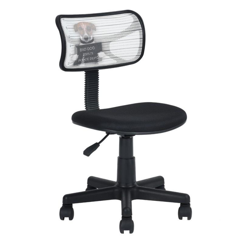 Noire Chaise De Bureau Dog Bad m8nOyvN0w