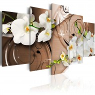 Tableau  Ivory orchids
