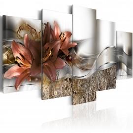 Tableau - Marsala abstraite