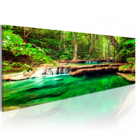 Tableau  Emerald Waterfall