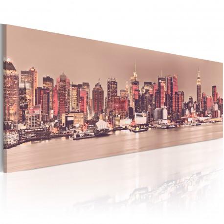 Tableau  New York  City of Light