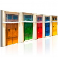 Tableau  Colourful Doors