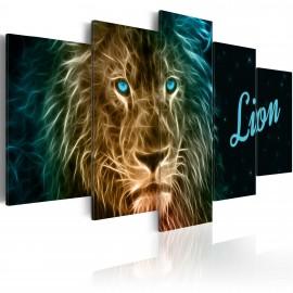 Tableau - Gold lion