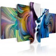 Tableau  Baiser des couleurs
