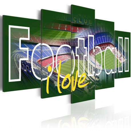 Tableau  I Love Football